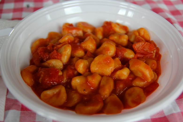 Some days my Italian friends like to cook: Fresh Pumpkin Gnocchi with Tomato Sauce