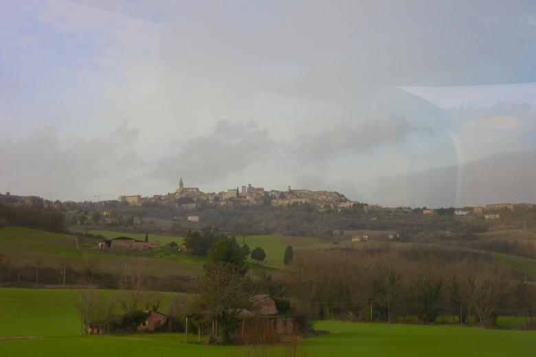 Window view of Todi