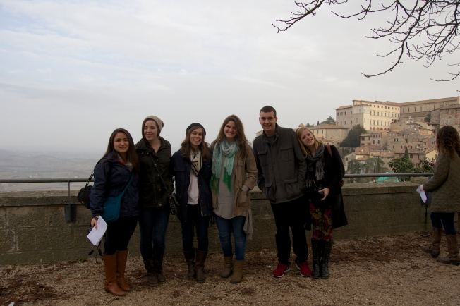 Students in Todi