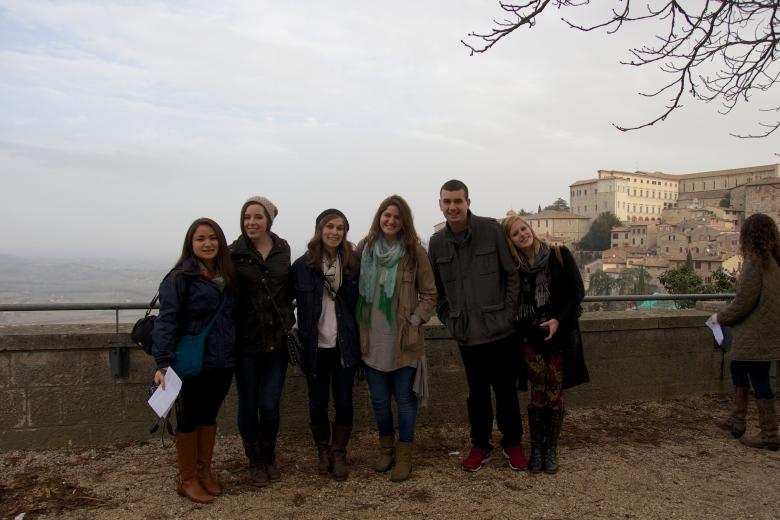 Students in Todi