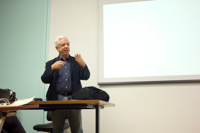 Photographer Henry Horenstein came to Temple Rome to share his knowledge and experience with us.