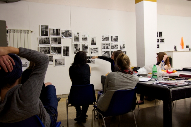 B&W Photography mid-term critique.