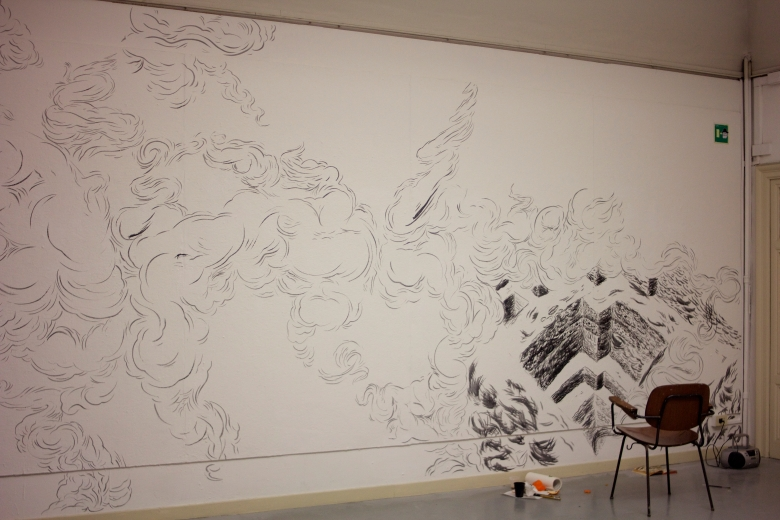 A work in progress by a grad student, Grimaldi Baez.