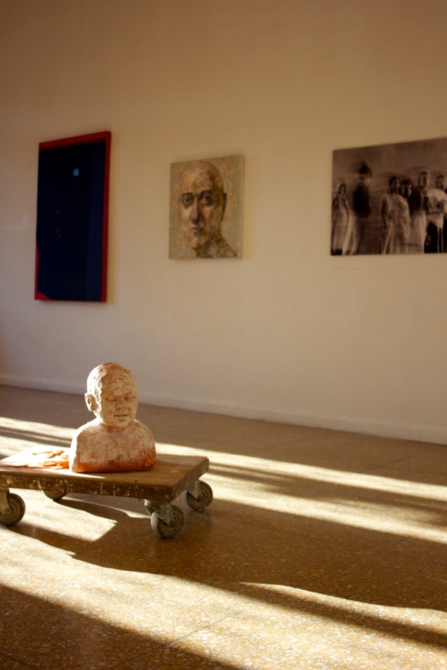 "The new exhibition in Temple Rome's art Gallery, ""Tra di Noi' with faculty member's art work."