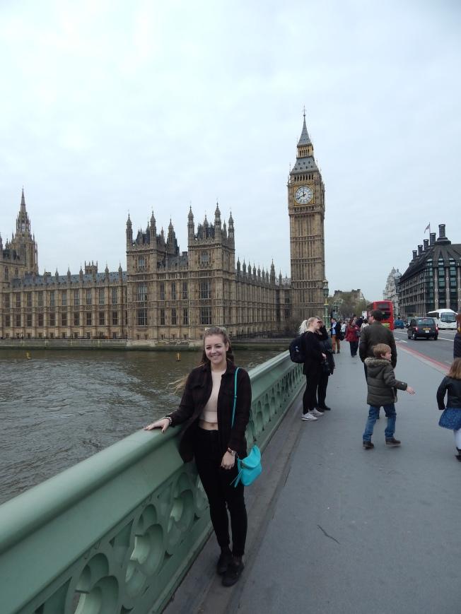 Me in front of Big Ben.