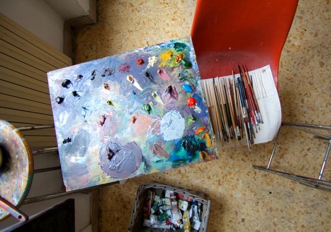 Studio of Grad Grimaldi Baez