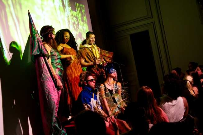 A student designed these 5 beautiful outfits for the Jam Session Fashion Show