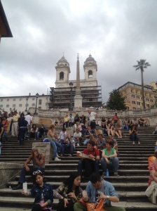 Piazza de Spagna - the Spanish Steps!
