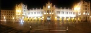 Sooooo this is their train station.......