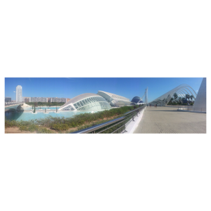 Panaromic View of the City of Arts and Science