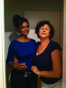 Me and Sara's host mom (sweetest lady ever!)