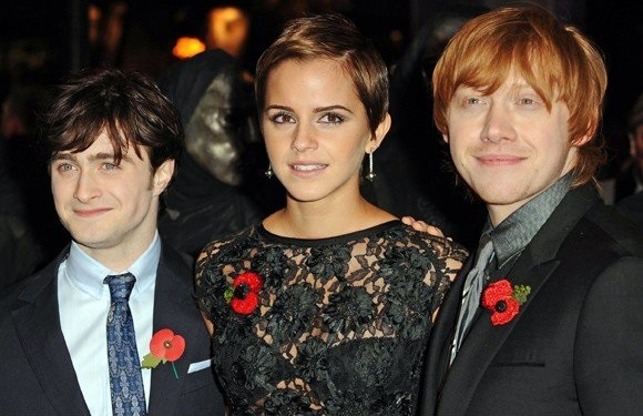 poppies with harry potter cast
