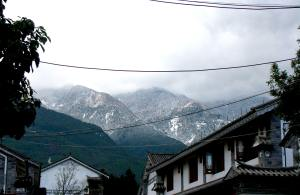 Xiaguan, or Old Town, in Dali lies at the base of mountains near Erhai Lake.