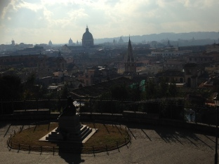 Piazza del Popolo: the view from above