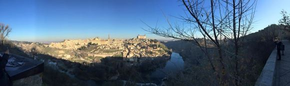 Panorama of Toledo - my favorite city thus far, where all three religions in Spain (Christianity, Islam, and Judaism) coexisted together.