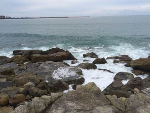 Cantabrica Sea in Gijon