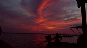 Sunrise on the Tonle Sap Lake