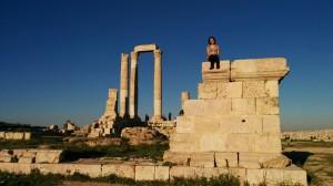 Temple of Hercules, Citadel, Amman
