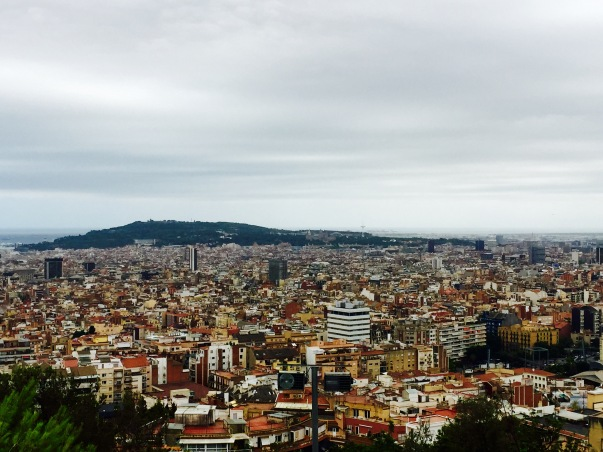 One of Barcelona's public parks, Park Güell, is located atop Camp Hill and is home to gardens, sculptures, and stunning views