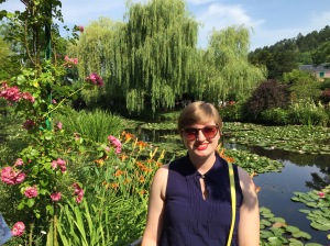 Monet's impossibly beautiful gardens were a high point in my first week!