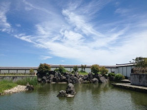 The farm had a beautiful Japanese tea garden