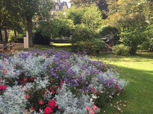 I'll really miss the beautifully manicured gardens of Paris.