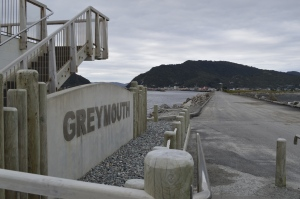 GREYmouth is aptly named.