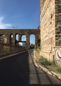 Ancient Arches changed for the new modes of traffic
