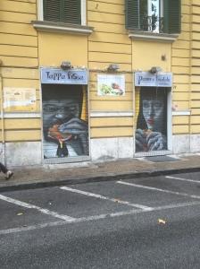 Modern Americana found in Rome's street art.