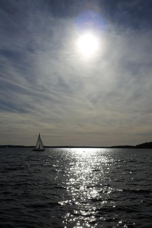 Lake Mälaren at midday