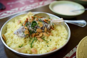Mansaf at Sufra, a restaurant favored by the royal family. Picture courtesy of photographylife.com