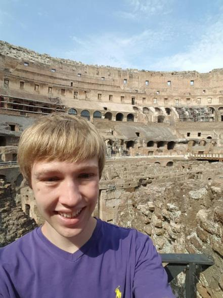 Me at Colosseum