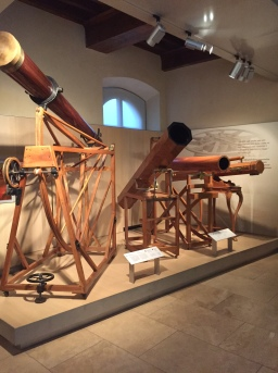Amazing medieval telescopes at the Galileo Museum in Florence.