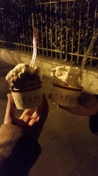 Native Italians also stop in the street to take blurry pictures of gelato too, right?