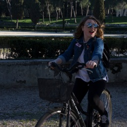 Bike riding in Borghese is the best way to spend a spring afternoon