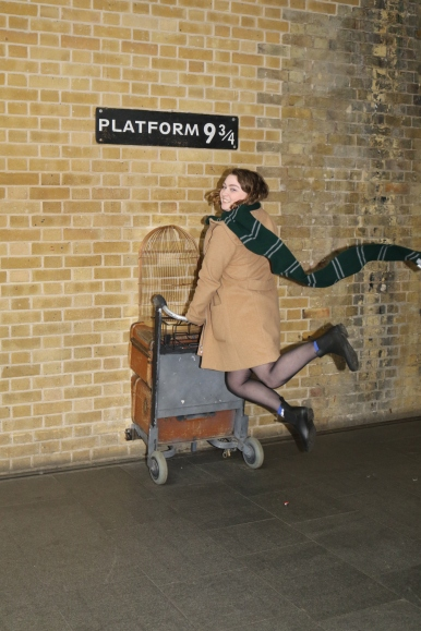 Okay, this was in London, but I think it's the dorkiest and most tourist-y thing I've done to date