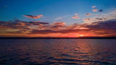 Sunset over Porto Grande, Siracusa, Sicilia